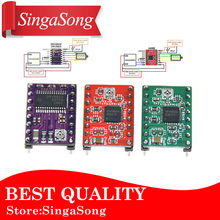 Free shipping! Reprap Stepper Driver A4988 DRV8825 Stepper Motor Driver Module with Heatsink.(China)