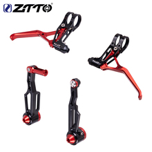 ZTTO folding bike V brake lever v-brakes caliper Super lightweight Compatible with mountain bike mountain bike pull high quality цена