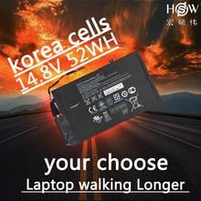 HSW 52wh 14.8V Battery for HP EL04XL TPN-C102 HTSNN-UB3R IB3R ENVY 4 681879-1C1 681949-001 HSTNN-IB3R 4-1001