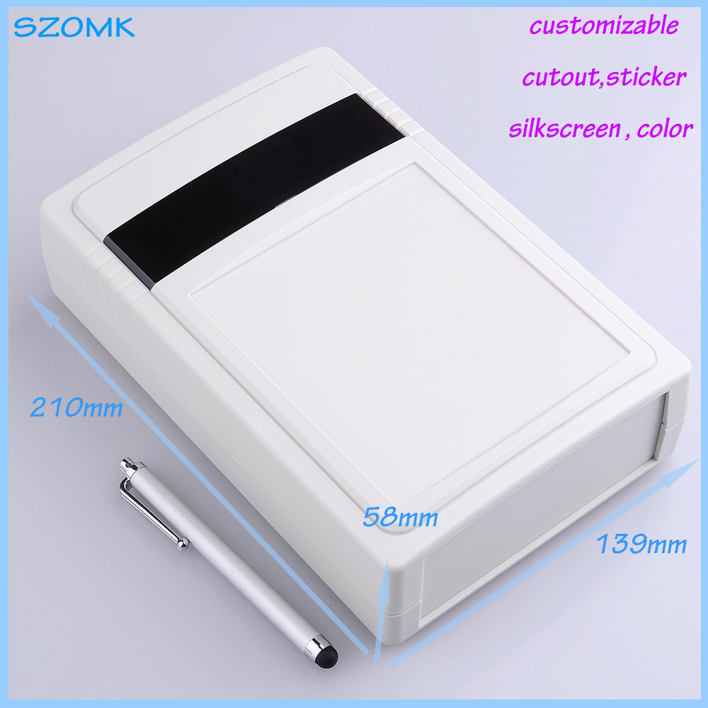 free shipping electronic project box for Diy housing (1 pc) 210*139*58mm plastic box wall mounting plastic enclosure case 4pcs a lot diy plastic enclosure for electronic handheld led junction box abs housing control box waterproof case 238 134 50mm