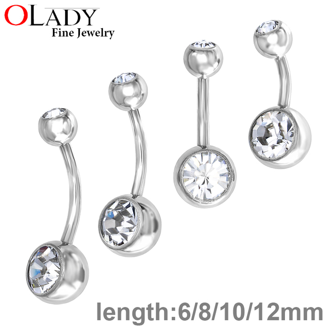 Us 2 78 Belly Button Rings Piercing Body Jewelry 100 Titanium Ombligo Nombril Belly Bars Belly Rings Navel Piercing In Promo On Aliexpress Com