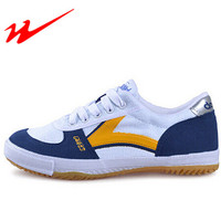 DOUBLESTAR MR Mens Table Tennis Shoes Women Canvas Lace Up Sport Training Shoes Sneaker Lightweight Outdoor