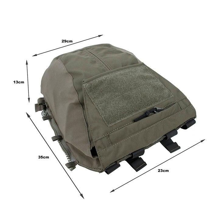 TMC NG AVS JPC2.0 CPC porte-plaque assaut fermeture éclair panneau pochette munitions utilitaire GP Pack Ranger vert RG BK (SKU051284) - 3