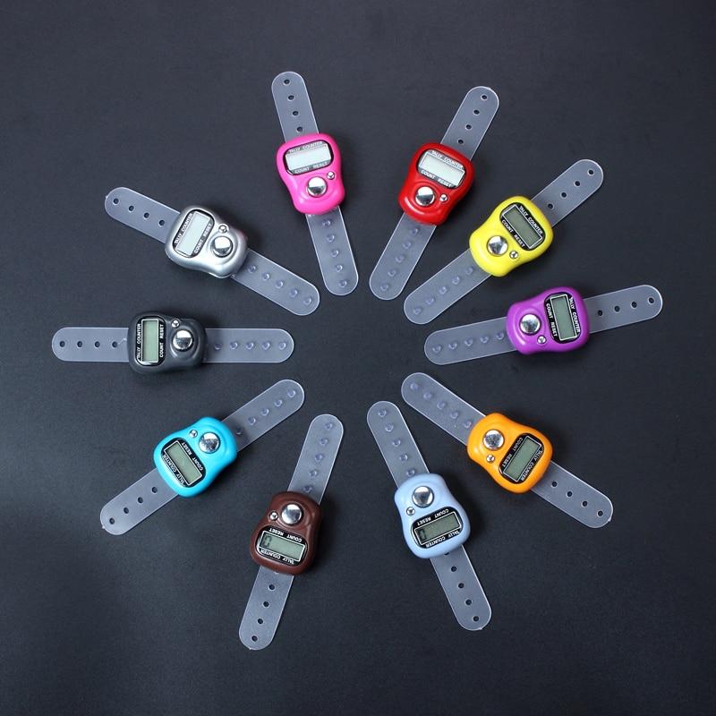 250 X Digital Lcd Electronic Finger Ring Hand Tally Counter Tasbee Tasbih Row Counter Free Shiping