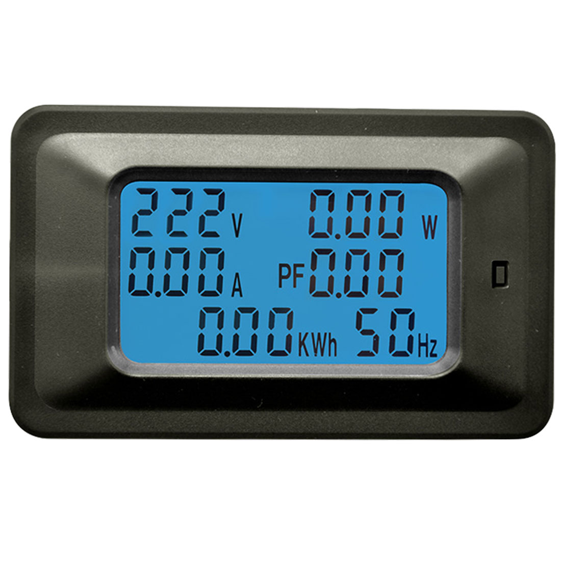 6 IN 1 LCD Digital AC 20A 100A Voltage Energy Meter Voltmeter Ammeter Power Current Panel Watt Combo Indicator 110V 220V ac220v 20a digital voltage meter energy meter lcd 5kw power voltmeter ammeter current amps watt meter tester detector indicator