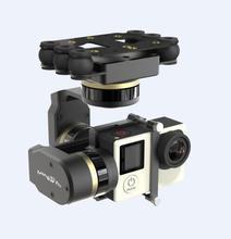 Free Shipping  Feiyu Mini3d pro Brushless Three-axis Gimbal 360 Degree No Dead Rotation For GOPRO3 / 3 + / 4 Camera