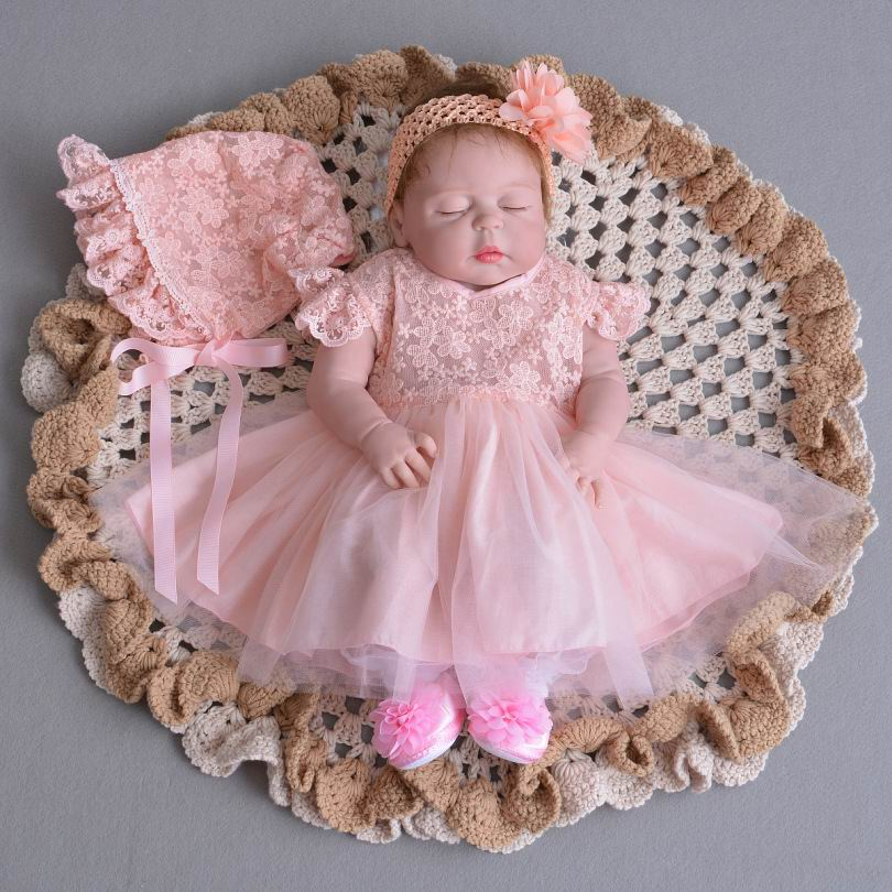 Infant Baby Girl Wedding Costume Lace Dresses Christening Gown Tulle ... 732134190342
