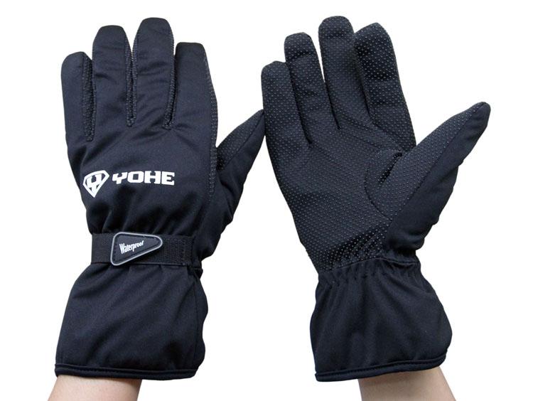 YOHE 100 waterproof windproof electric font b motorcycle b font font b gloves b font warm