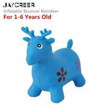 JayCreer вышибатель оленя, надувной космический бункер, езда-на надувной животное