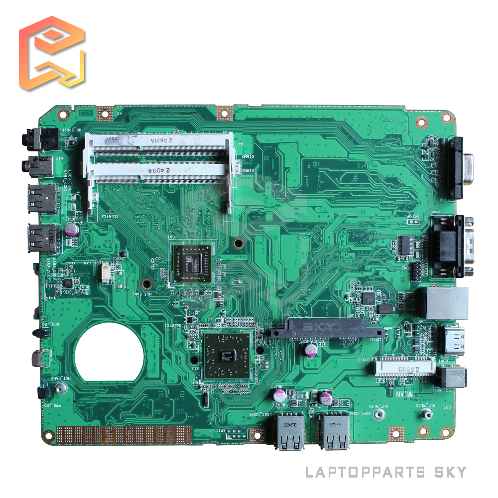Original laptop motherboard for asus EB1021 REV:1.02G DDR3 AMD CPU mainboard fully tested work well for msi ms 10371 intel laptop motherboard mainboard fully tested works well
