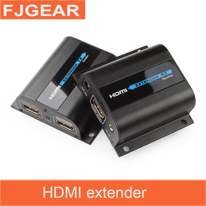 HDMI LKV372Pro HDMI Extender with Loop&IR Repeater Cable Signal Up to 60m/196ft Over Single CAT6 Network Cable 80 channels hdmi to dvb t modulator hdmi extender over coaxial