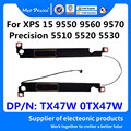 Ноутбук новый набор динамиков-R + L левый и правый для Dell XPS 15 9550 9560 xps15 9570 7590 точность 5510 5520 5530 TX47W 0TX47W