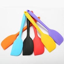 Cake tools Silicone Cream Butter Cake Spatula Mixing Batter Scraper Brush Butter Mixer Cake Brushes Baking Tool Kitchenware(China)