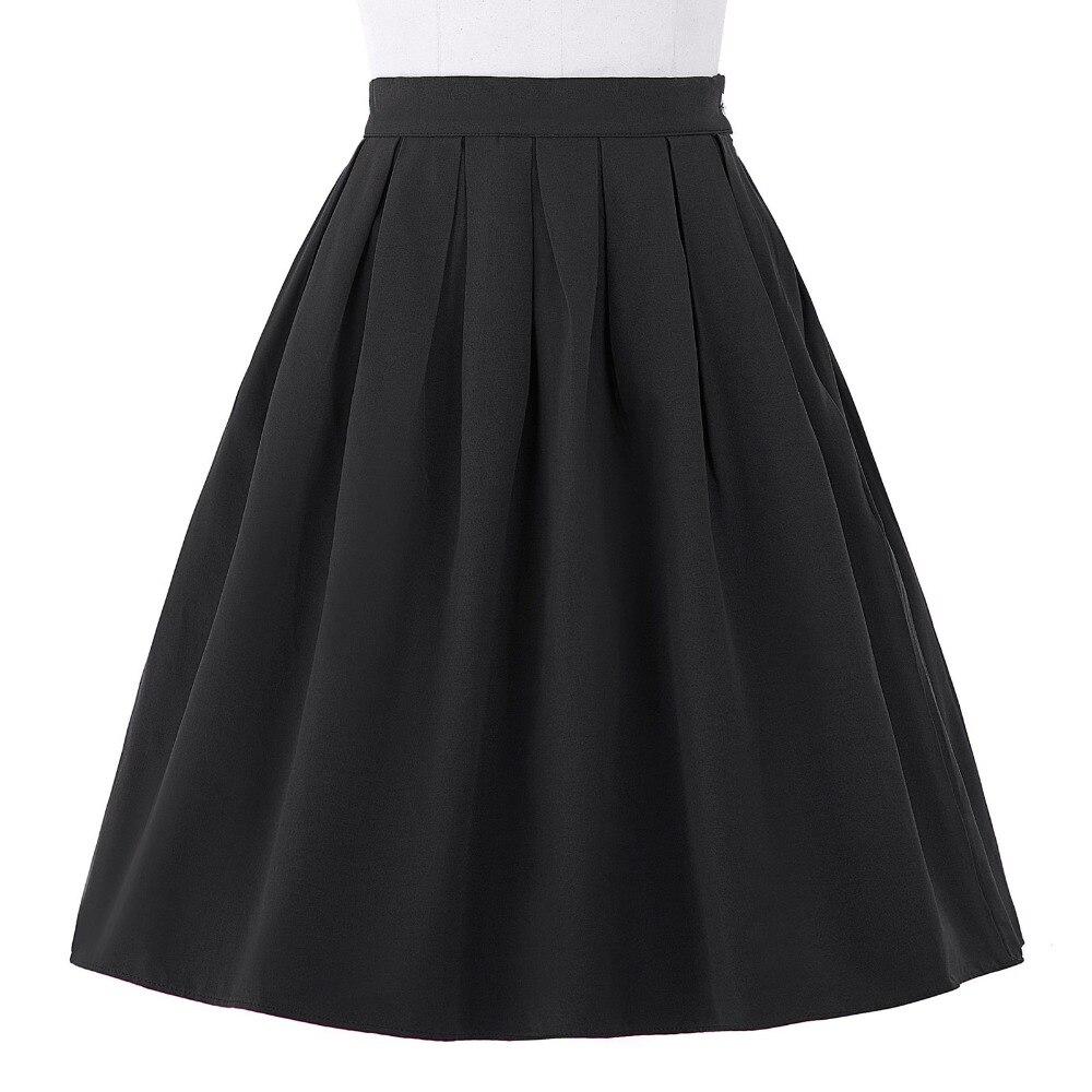 Фото юбки черные клеш