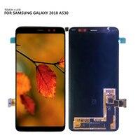 100% тестирование для samsung Galaxy A8 2018 A530 A530F A530DS A530N SM A530N ЖК дисплей Сенсорный экран планшета Ассамблеи