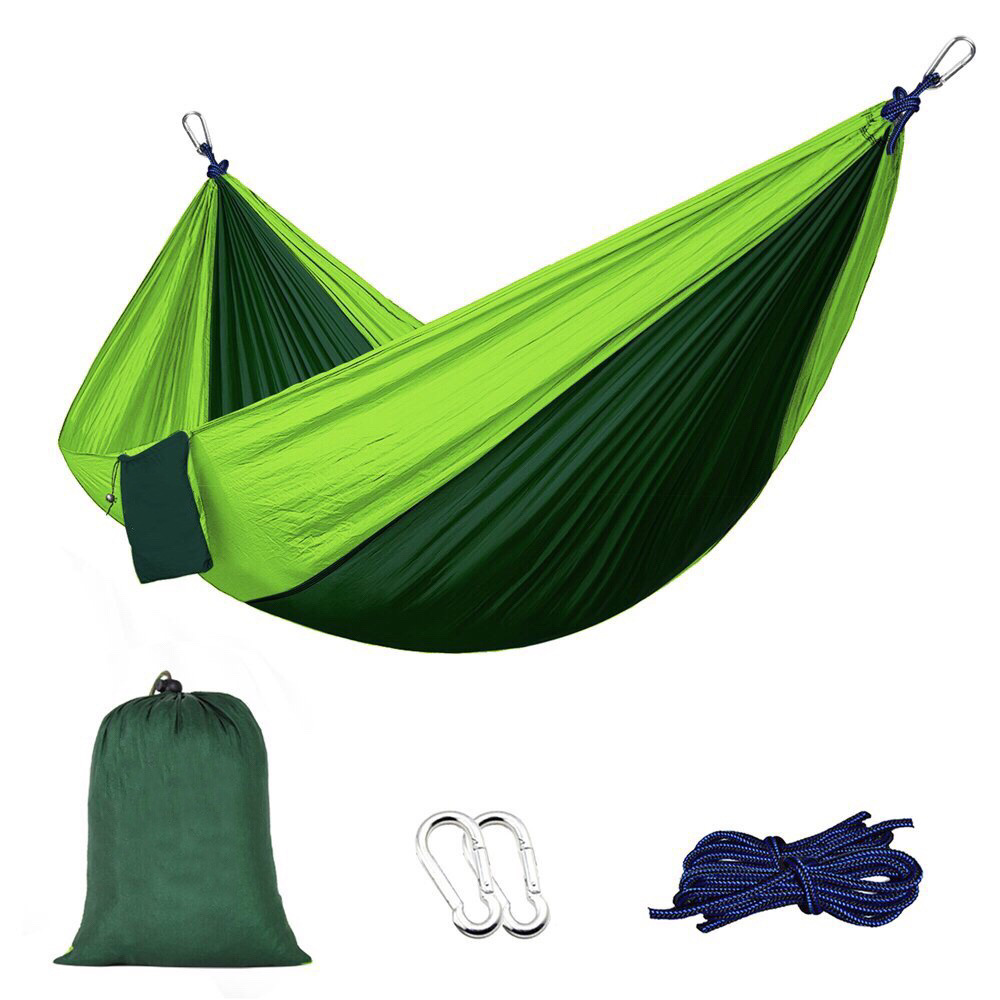 Portable Nylon Parachute Hammock Camping Survival Garden Hunting Leisure Hamac Travel Double Person Hamak 2017 2 people hammock camping survival garden hunting travel double person portable parachute outdoor furniture sleeping bag