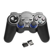 2 4GHz Wireless Game Pad Joypad Controller Handle Gamepad Joystick With OTG Converter For Windows 8