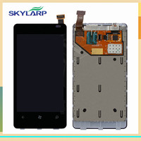 LCD Module With Digitizer Touch Screen With Frame Replacement For Nokia Lumia 800 Free DIY Tools
