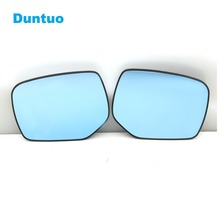 Blue Mirror Glare Proof Mirror Turn Signal font b Lamp b font Heated Rearview Mirror For