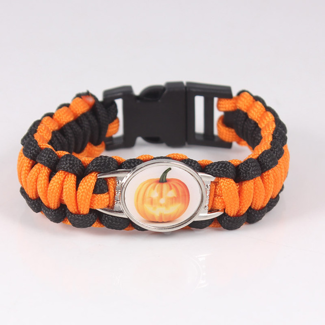 636bb883772e US $2.99 |2017 New Halloween Gift Charm Bracelet Pulseras Mujer Bracelet  Jewelry Bat Cat Owl Pumpkin Ghost Paracord Bracelets For Women-in Charm ...
