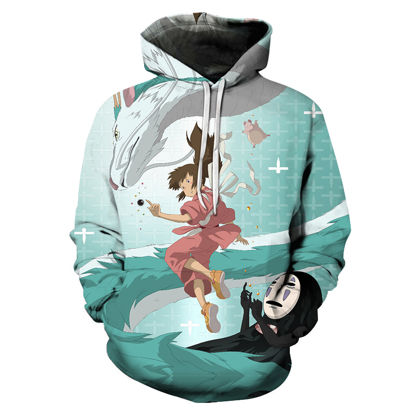 Anime 3D Hoodies Sweatshirts Men Women Hoodies Men Clothes 2018 Brand Tracksuits Fashion Pullover Unisex Hoodies ZOOTOP BEAR