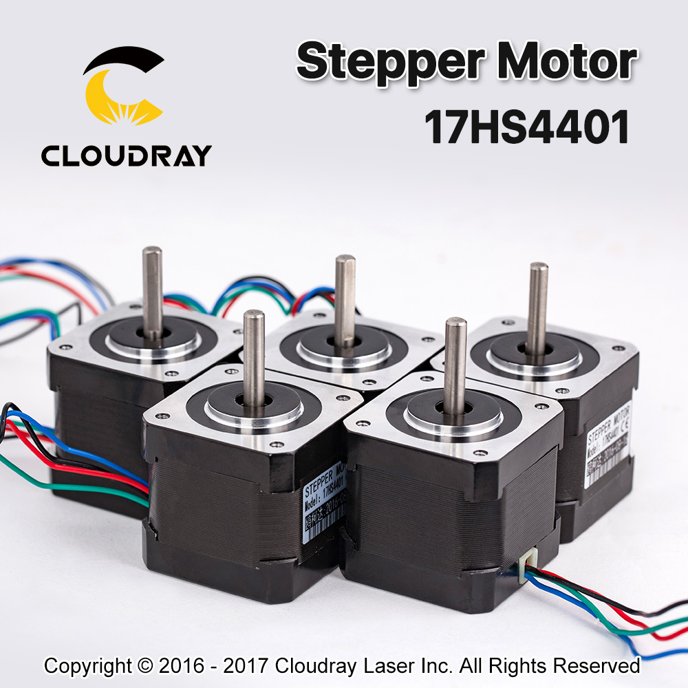 5 pcs 4 lead Nema17 Stepper Motor 42 Nema 17 42BYGH 17HS4401 40mm 1 7A 3D