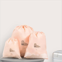 Free ship 3 pcs/lot Set Travel Accessories Men and Women Clothes Classified Portable Underwear Bra Packing Bags Luggage Pouch
