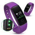 Fuster 100% original id107 pulsómetro bluetooth oled pantalla banda de fitness inteligente android 4.4 para lg htc huawei zte