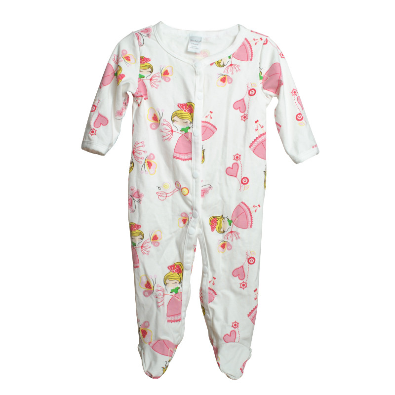 Brand Newborn Baby Clothes Cute Cartoon Baby Costume Girl Boy Jumpsuit Clothing Spring Autumn Cotton Romper Body Baby Clothes 25
