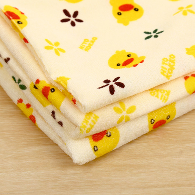 Infant Cartoon Bed Urine Mat Cover Baby Changing Pad Waterproof Yellow Duck Kids