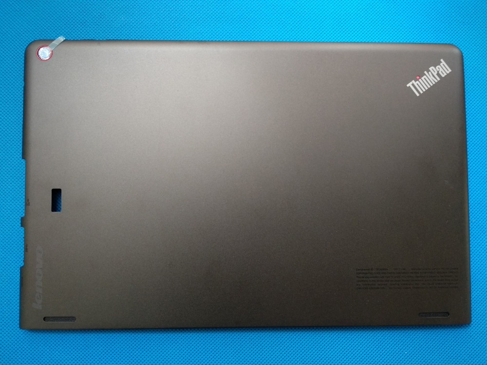 New Origina for Lenovo Thinkpad Helix 20CG 20CH laptop LCD back cover Top Cover 00HT545 64,4EOCS.002 genuine new for lenovo thinkpad x1 helix 2nd 20cg 20ch ultrabook pro keyboard us layout backlit palmrest cover big enter