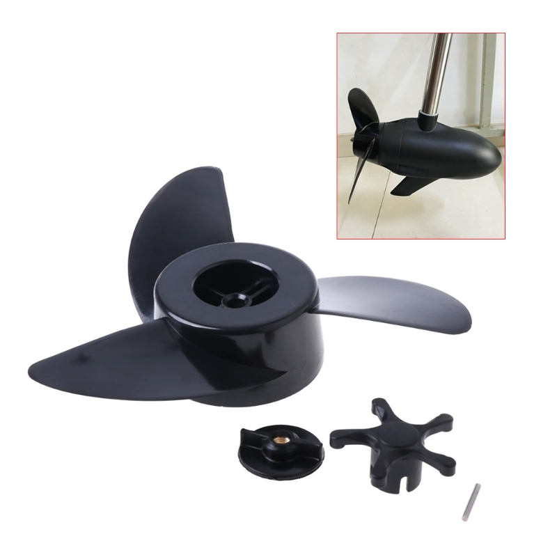 SAILFLO 3 Blades Motor Boat Propellers Electric Engine Outboard For Haibo ET34 ET44 ET54 electric outboard engine fishing boat propeller with outboard engine 12v 684w1750 rotationl speed dc motor