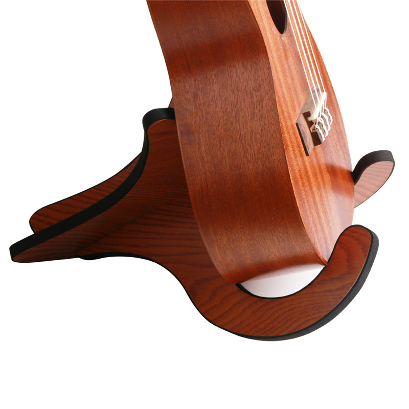 Rocket Hot Sale Guitar Accessories  Wooden Collapsible  Convenience Stand Suitable For Ukulele Mandolin Violin Banjo scrappy rocket rtf