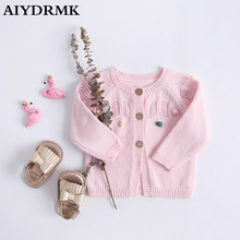 Infant Girl Baby Winter Baby Knit Sweate