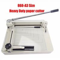 Heavy Duty paper cutter 17 A3 Size Stack Paper Trimmer Cutter YG 868 A3 photo cutting machine tender contract PVC album cutter
