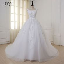 ADLN Sleeveless Cathedral Train Ball Gown Wedding Dress