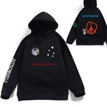 Astroworld THRILLS AND CHILLS Hoodies Spring Autumn Streetwear Pullover Travis S