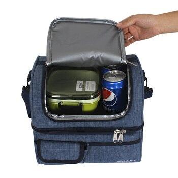 45574f3e56bb Большой сумка для пикника Thermo сумки для обедов, Термосумка ...