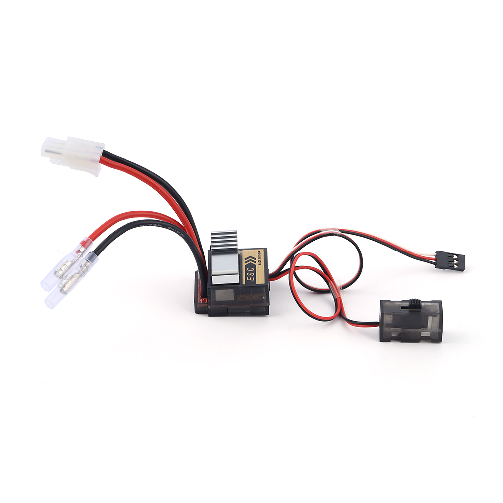 1pc 4 8 7 2V 320A Nickel NiMH Brushed Electric Speed Controller Brush ESC For RC Car boart 1 8 1 10 Truck Buggy High Quality in Propulsion from Consumer Electronics
