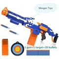 Nueva nerf pistola de Balas de pistola de juguete eléctrico rifle de francotirador metralleta de juguete pistola de bala suave pistola de juguete para niños el envío libre