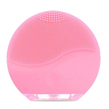 Electric Cleansing Instrument Ultrasonic Vibration Massage Instrument Wash Brush Facial Pore Cleaner Beauty Tool недорого