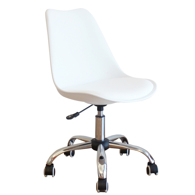 Simple Style Lifted Office Staff Meeting Chair Rotated Household Multi-function Study Chair with Backrest Stable Computer Chair