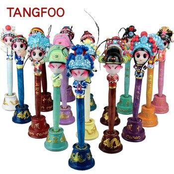 Tangfoo DIY Nette Cartoon Gel Stifte Chinesischen Stil Besondere Handwerk Kawaii Komödie Oper Maske Kugelschreiber Spaß Gel Stifte Schreibwaren