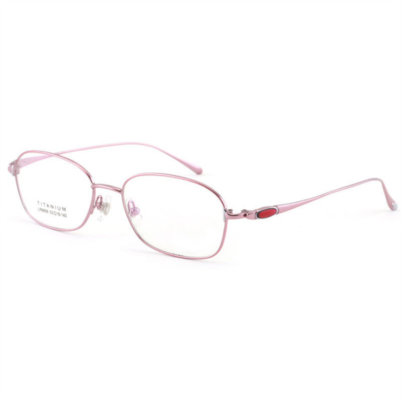 Titanium High Quality Glasses Women Eye glasses frames Ultra-light Prescription Eyewear 908 Optical