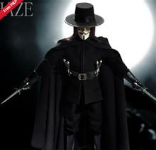 "1/6 Scale ""V for Vendetta"" 12 inch Action Figure Toys Power"