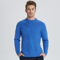 Men Jumpers 100% Pashmina Pullovers Winter New Thicker Warm Pure Goat Cashmere Sweaters Man Knitwear Standard Clothes Male Tops