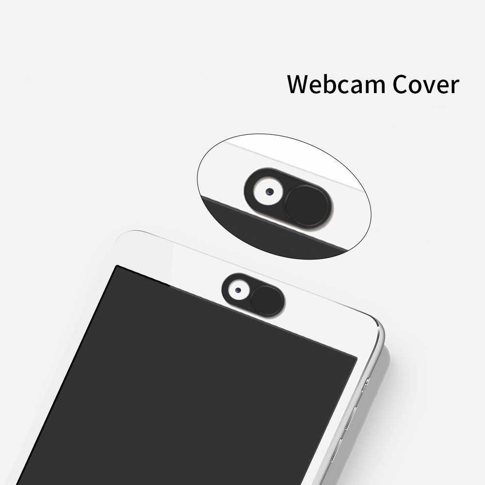 Tongdaytech เว็บแคมฝาครอบชัตเตอร์ Slider พลาสติก Ultra บางฝาครอบกล้องสำหรับสมาร์ทโฟนแล็ปท็อปโทรศัพท์มือถือ Len สติ๊กเกอร์ความเป็นส่วนตัว