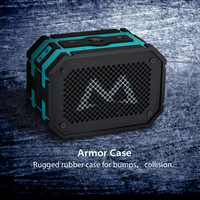 Mpow Portable Wireless Bluetooth Speakers With 1000 MAh Emergency Power Bank Function And Splashproof Shockproof Dustproof