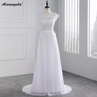 New Arrival 2015 Custom Made Wedding Dress For Wedding Stunning Vestidos De Noiva A Line Cap