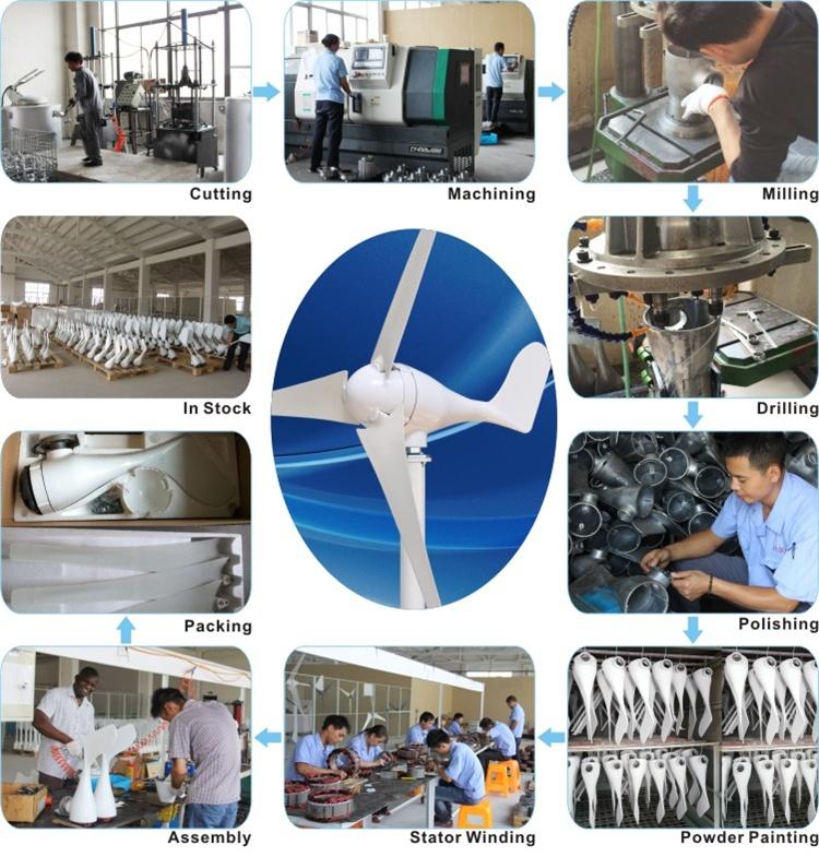 HTB1.GilRpXXXXXOXFXXq6xXFXXX1 - 3 blades DC12V 100W aluminum alloy+Nylon wind power generator with wind controller for home CE ISO TUV Wind Turbine Generators